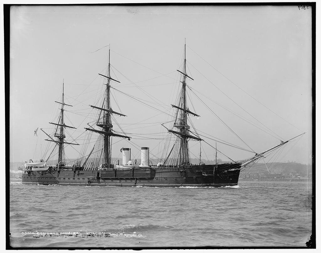 Крейсер «Генерал-адмирал».