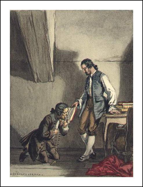 Auguste Leroux, Casanova, History of my Life