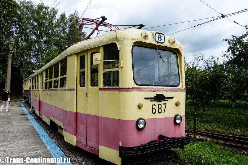 Музей трамваев в Нижнем Новгороде: Трамвай ЛМ-49