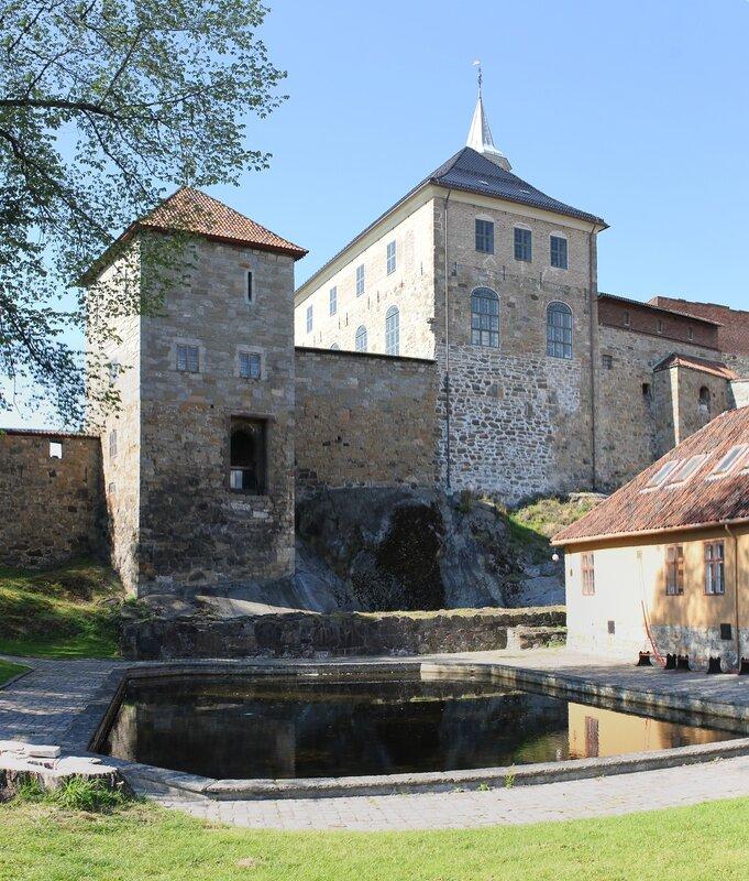 Oslo. Akershus fortress, Akershus Festning, Akershus slott