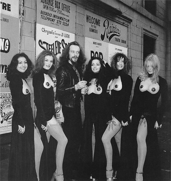 Jethro Tull На начальном этапе карьеры у группы были проблемы с концертами в Лондоне, поэтому им при