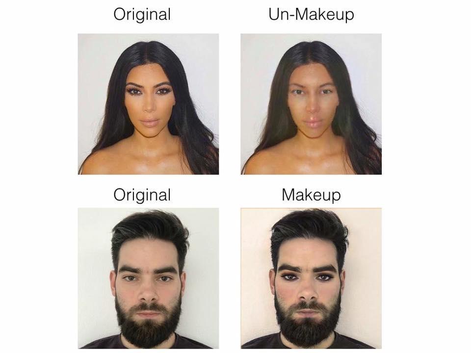 Вышел бот «для снятия макияжа», который показывает истинные лица накрашенных девушек (12 фото)
