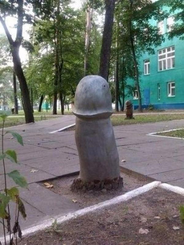 8. Это памятник грибу.