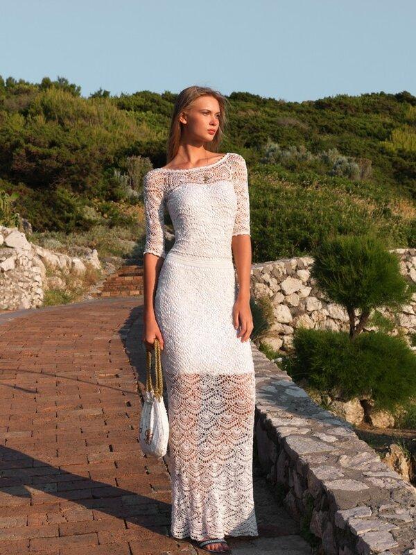 Возьмите на заметку-вязаные платья на лето! Шикарно! .Fiorella.jpg