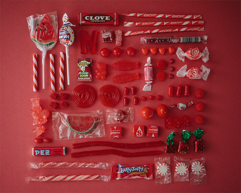 Color Coded Candy by Emily Blincoe