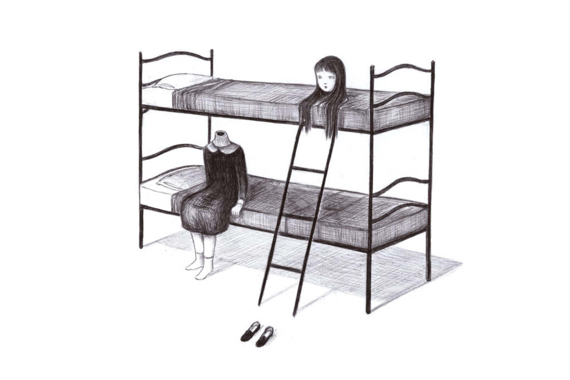 Sweet Darkness - The illustrations by Virginia Mori