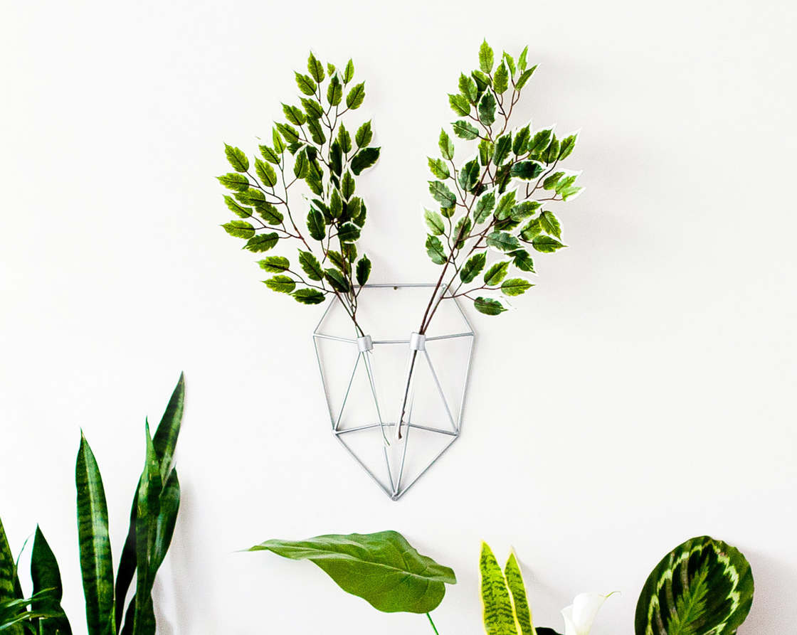 Ecodeer - These pretty minimalist vases turn your flowers into deer antlers