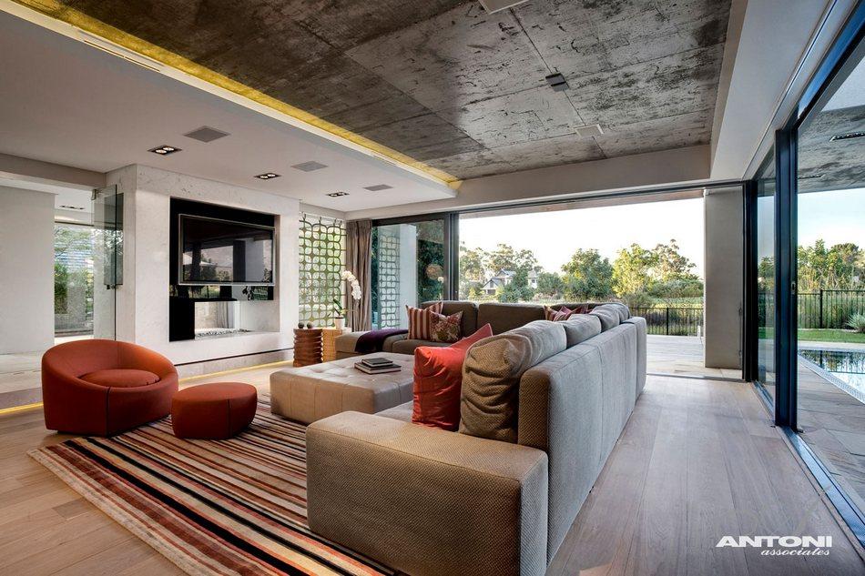 Резиденция Pearl House в пригороде Кейптауна