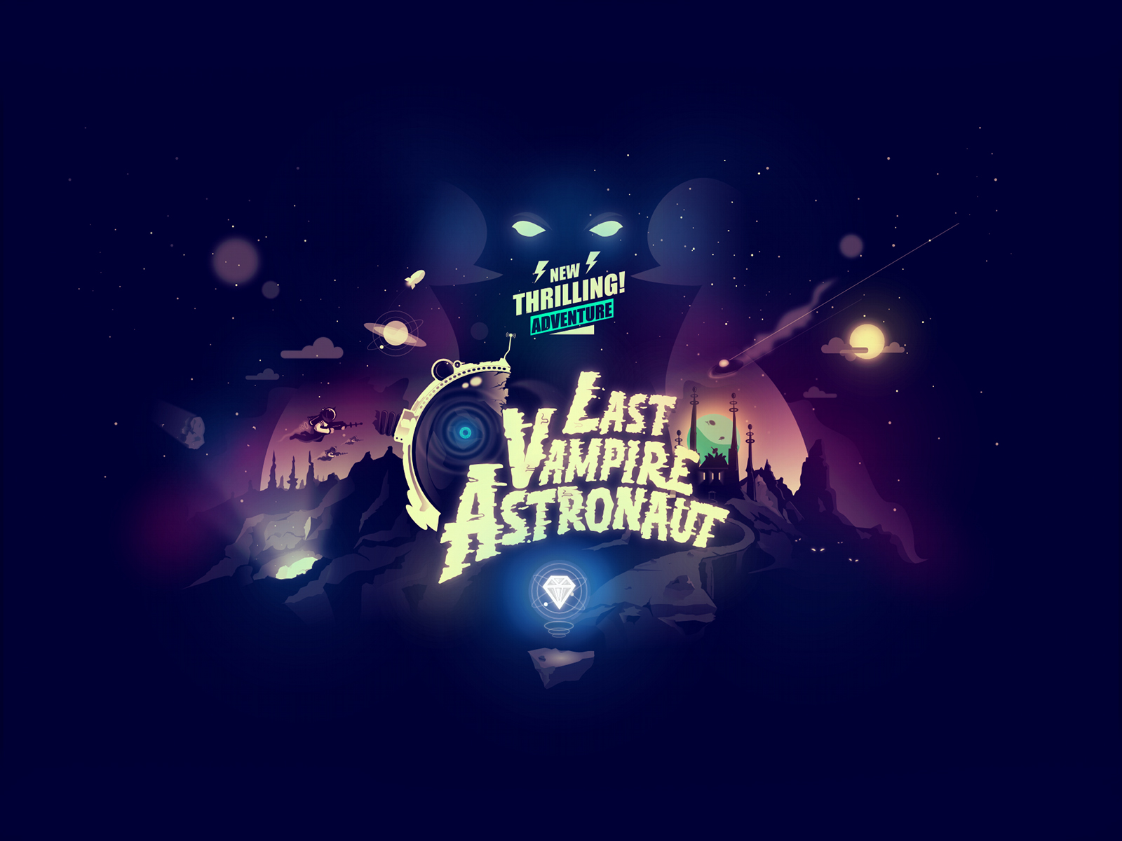 Wallpaper Pack: The Last Vampire Astronaut