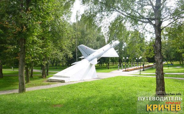 Самолет в Парке Победы