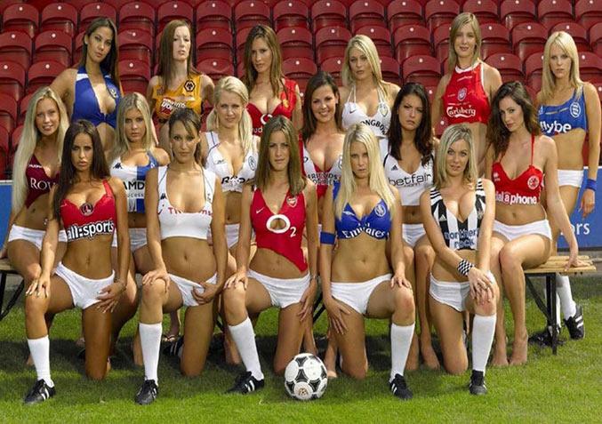 Самые сексуальные футболистки планеты