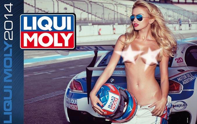 Сексуальные девушки в эротическом календаре Liqui Moly на 2014 год