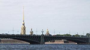 Санкт-Пербург. Прогулка по Неве