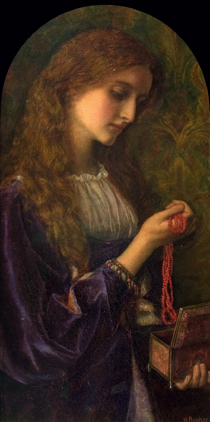 1862-1865 Магдалина (Madeleine) Камбрия, Карлайл, Дом-музей Тулли и картинная галерея.