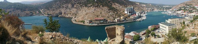 Балаклавская бухта, гора Таврос