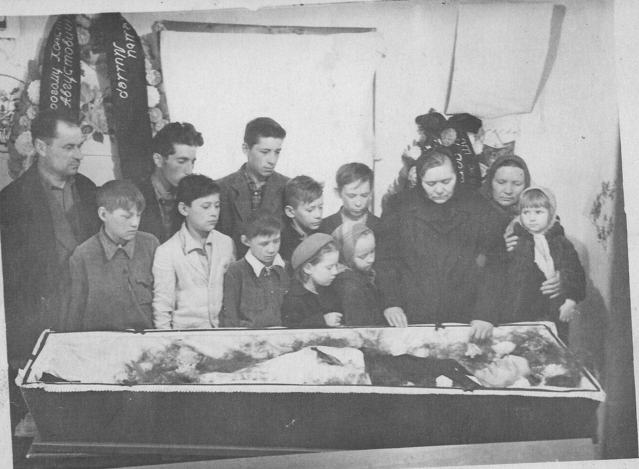 Похороны Константина Кунца. Краснотурьинск. 1963.
