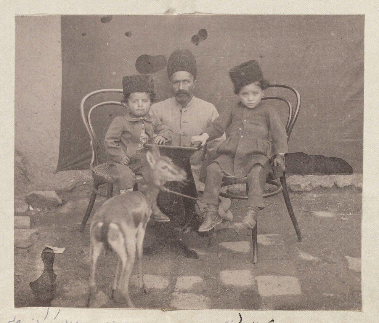 Махмуд хан Вали, сын Мухаммад-хана Вали и Хайдар Кули-хан, сын Али-хана и его второй жены Тубы Ханум