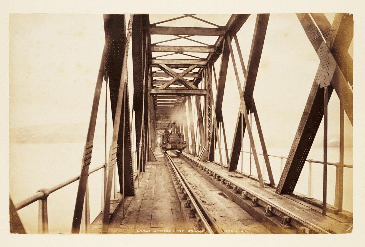 Фотография секции моста до его разрушения