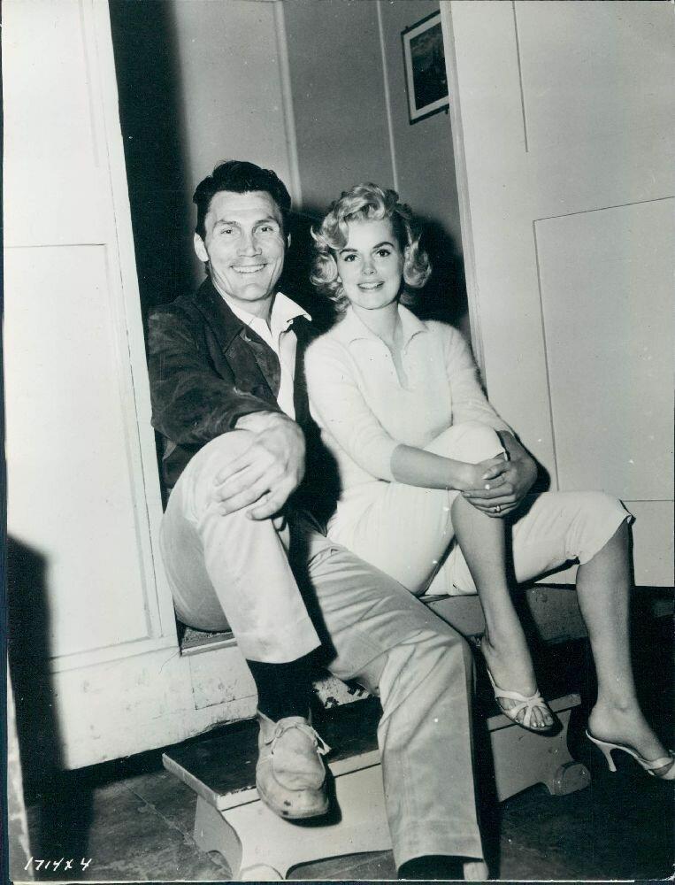 1957. Актеры Джек Паланс и Барбара Лэнг