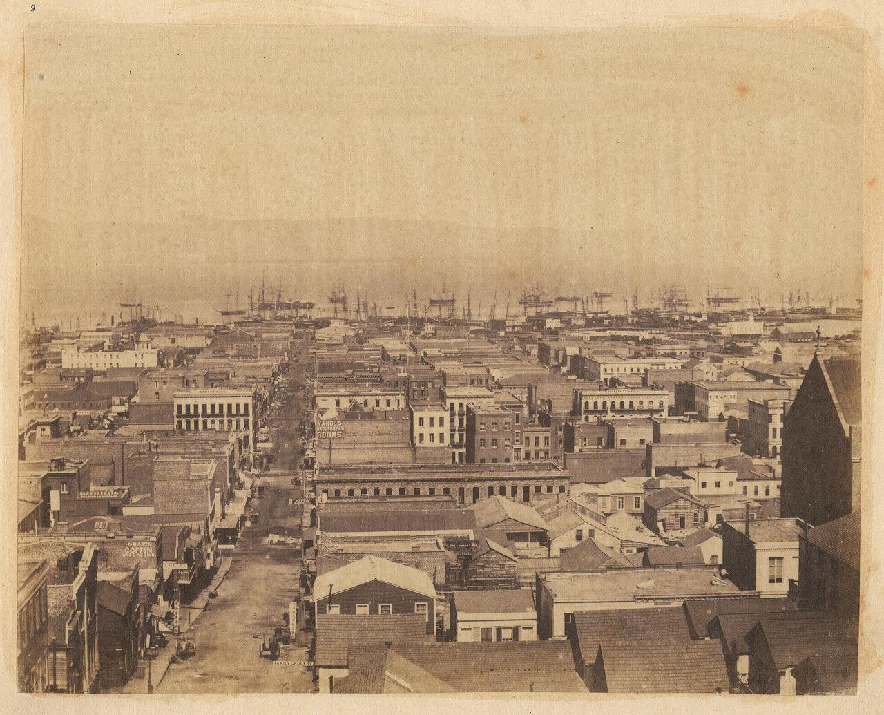 Панорама Сакраменто-стрит