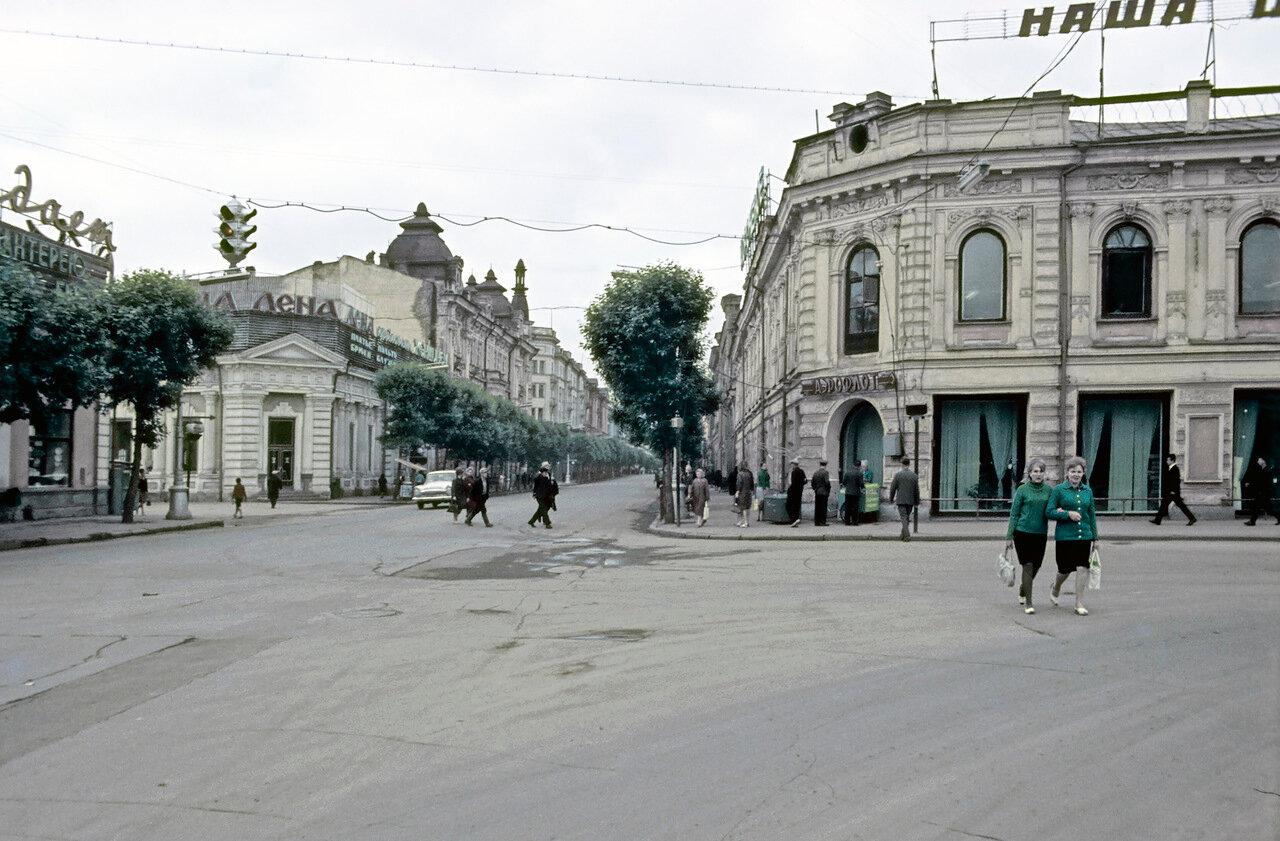 Пересечение улиц Карла Маркса и Пролетарской