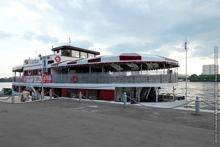 1 июня 2013 года. МСРВ. Прогулочный теплоход «Анна Каренина» (бывший паром 1961 года постройки)