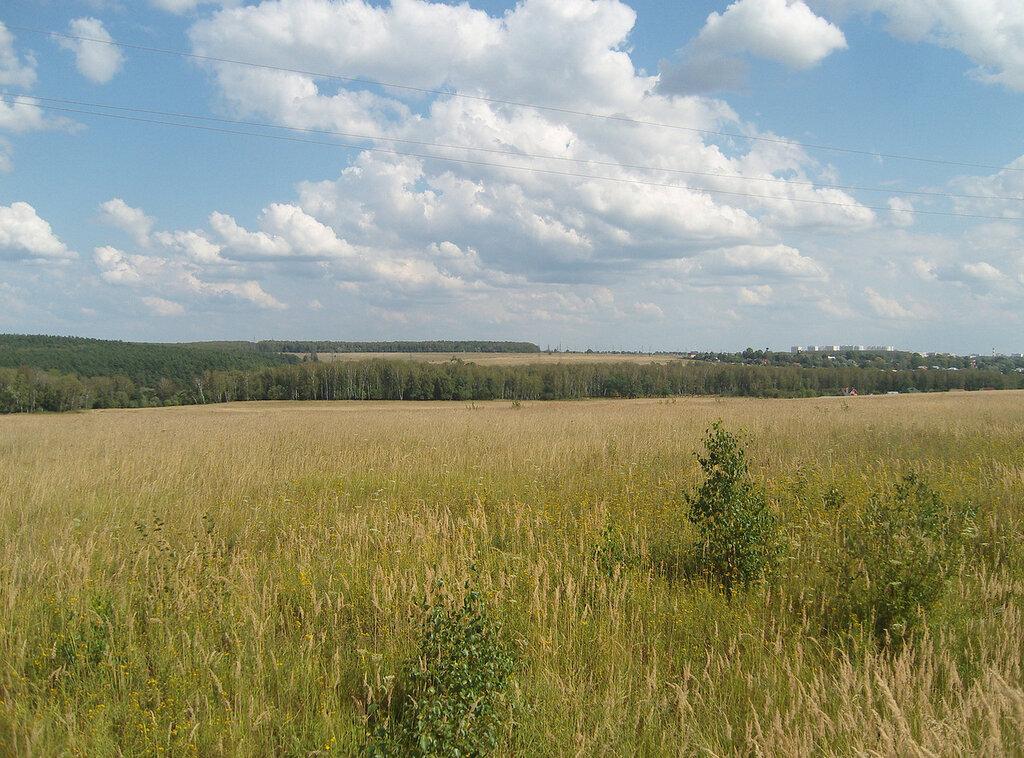 леса-поля и окраина Серпухова
