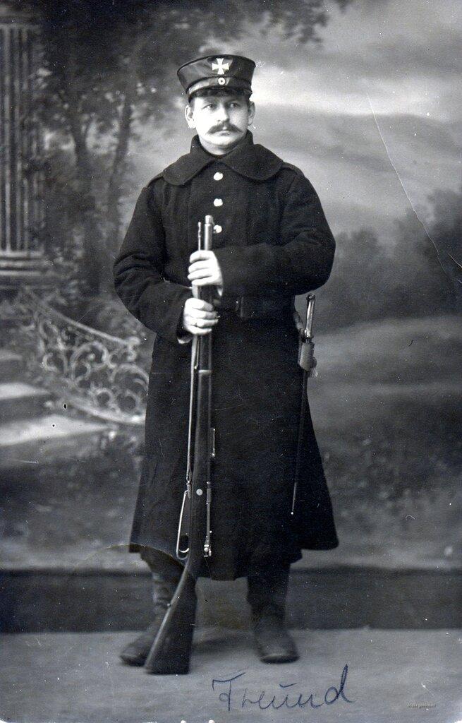Landsturmmann - Offizier-Gefangenenlager Hann. Munden