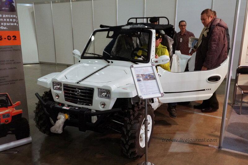 """Мини-джип Discovery Сlassic, выставка """"Охота и рыбалка 2014"""", Москва"""