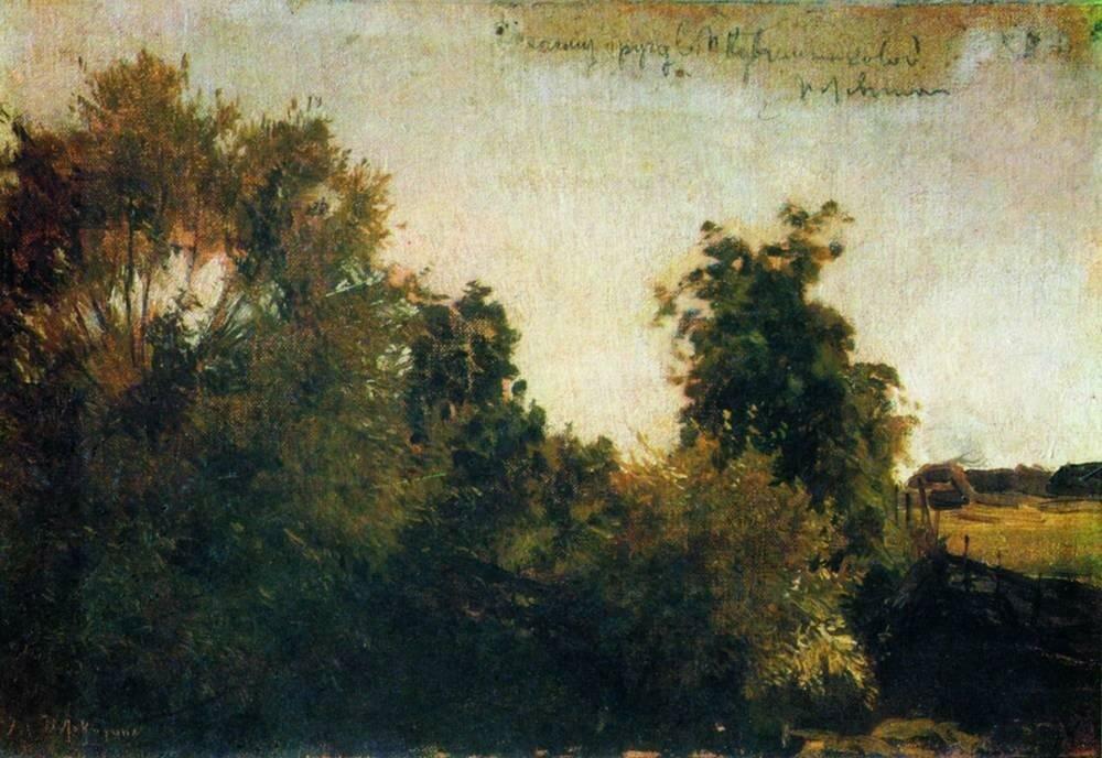Деревья и кусты. 1880-е.jpg