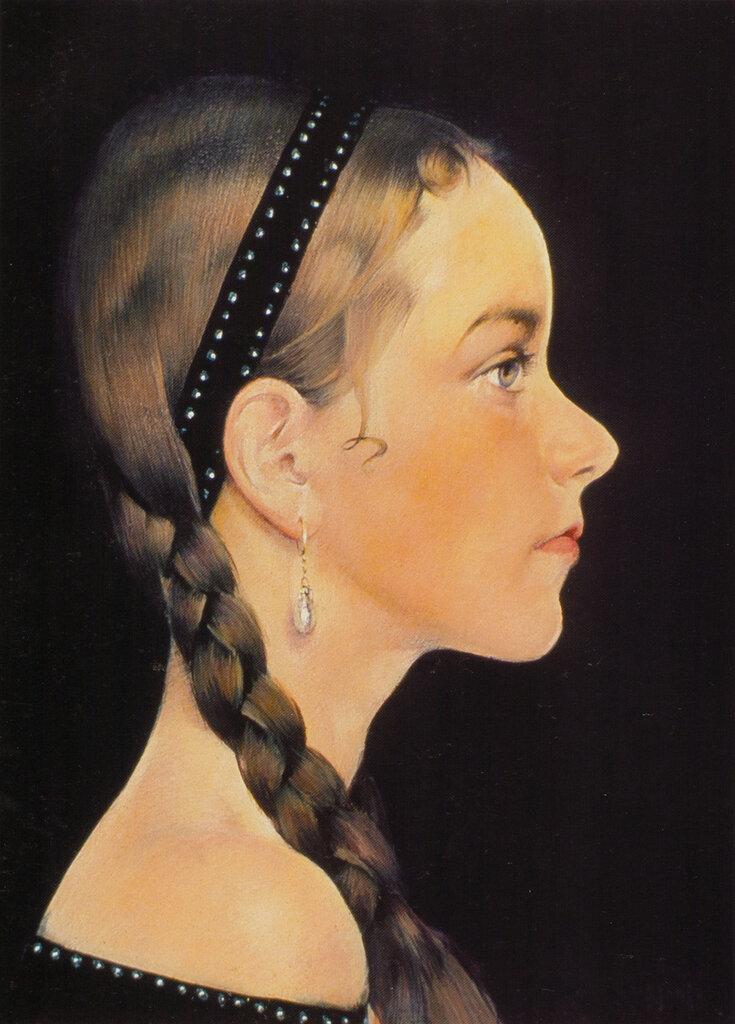 Портрет Ии (в профиль) (1927—1933).jpg