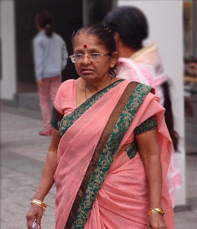 Старая индианка
