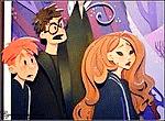 Гарри Поттер, Гермиона и Рон