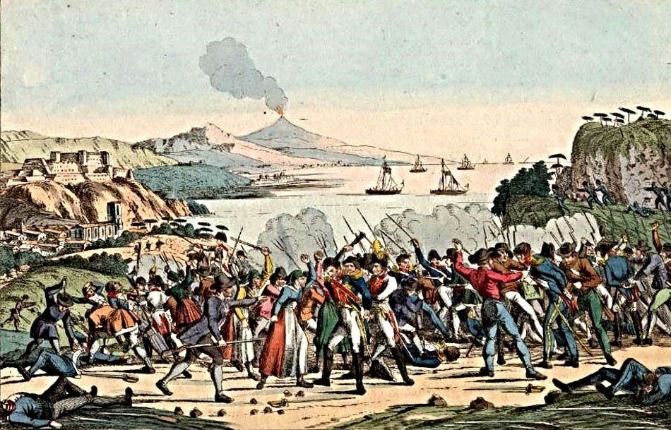 Камп Фридрих Мюрат, Неаполь 1815 г.jpg
