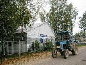 На Центральной улице села Рябчи.