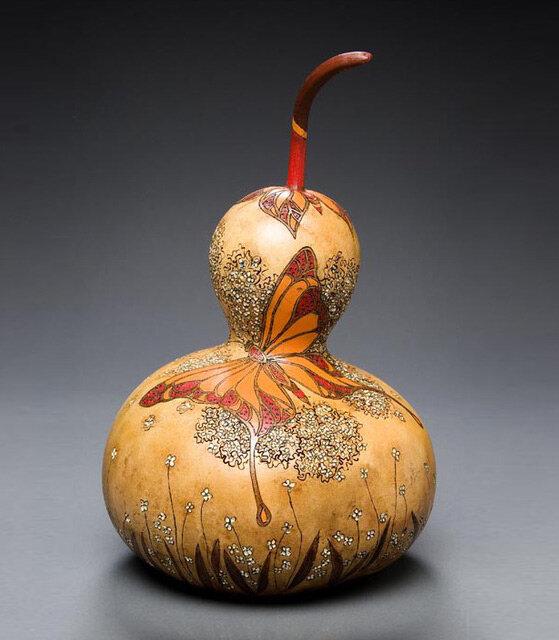 Шедевры из тыквы (работы Мэрилин Сандерлэнд)