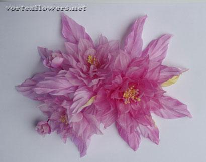 Цветок из ткани своими руками. Как сделать цветок из ткани.