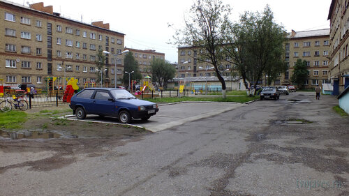 Фото города Инта №5368  Мира 9, 7, Социалистическая 3 и 3а 30.07.2013_13:46