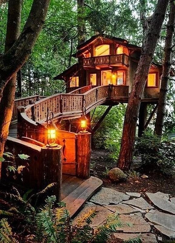 0 180193 d94ae463 orig - Дом на дереве - кто о нем не мечтал в детстве?