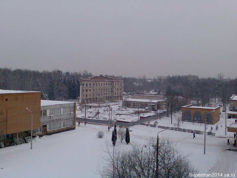 МГУЛ - вид на Главный корпус