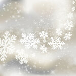 Xmas background. Abstract winter design with stars and snowflakes
