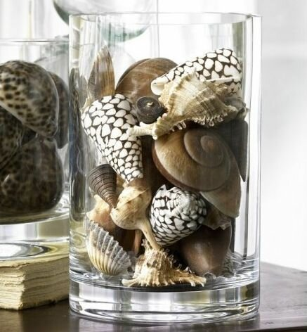 Разновидности наполнителей для прозрачной вазы