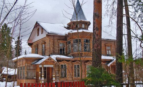 Пильный, 7. Место жительства прп. Серафима 1939-45