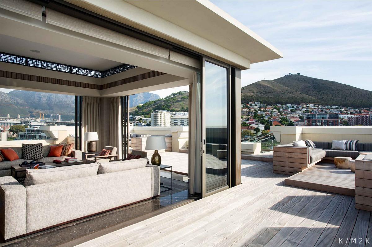 Keith Interior Design + M2K Architecture, пентхаус One&Only, пентхаус в Кейптауне, дизайн интерьера пентхауса, роскошный дизайн интерьера