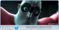 Суперсемейка / The Incredibles (2004/BDRip/HDRip)
