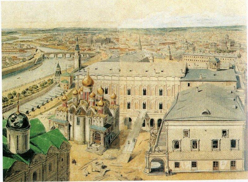 Строительство Большого кремлёвского дворца