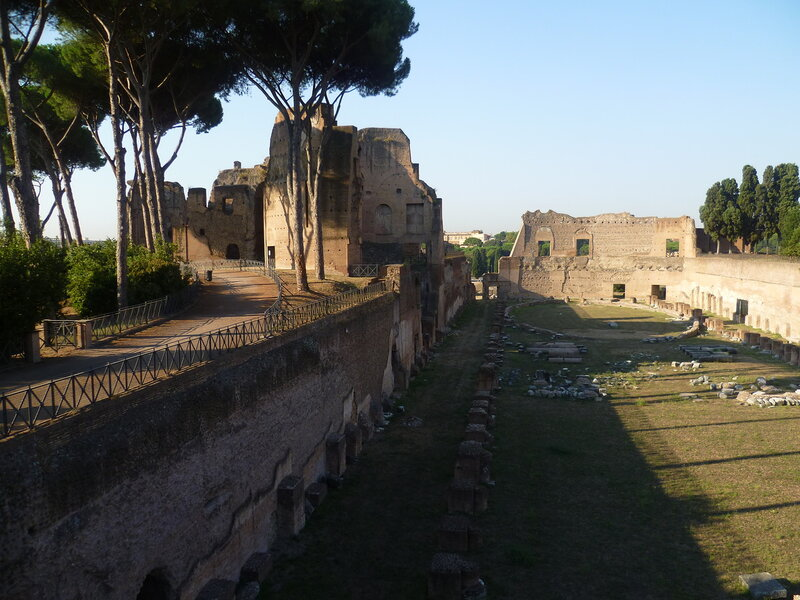 Италия, Рим. Палатинский холм (Italy, Rome. Palatine Hill)