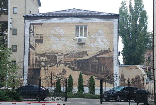 Картина на стене здания