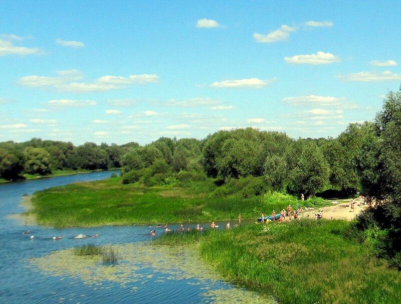 У реки Хопёр, лето 2012