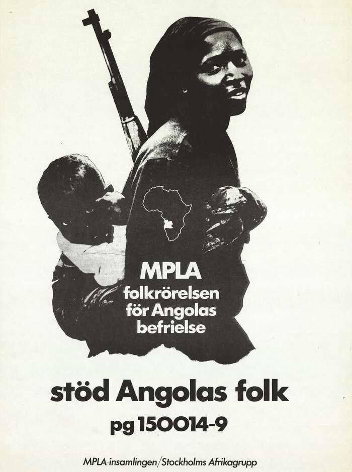 МПЛА - Народное движение за освобождение Анголы